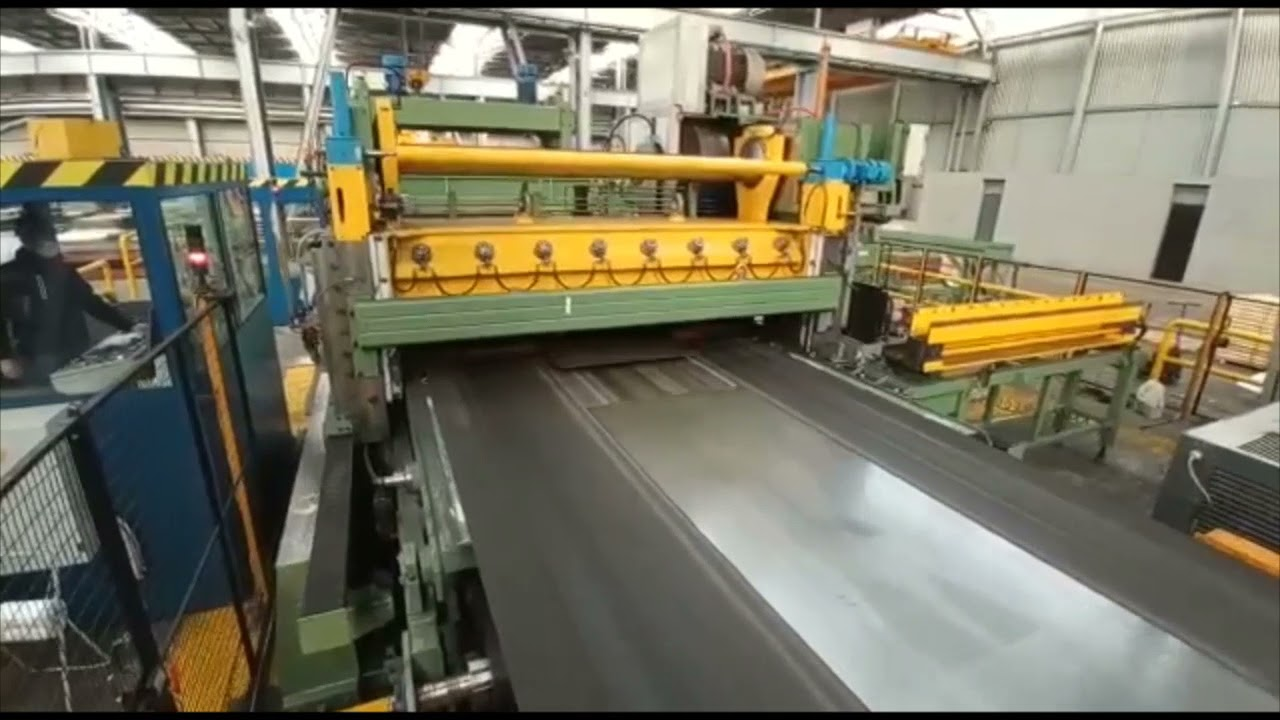 """98"""" (2500mm) x .315""""  (8mm) x 30 Ton FIMI CTL Line with Flying Shear (2016)"""