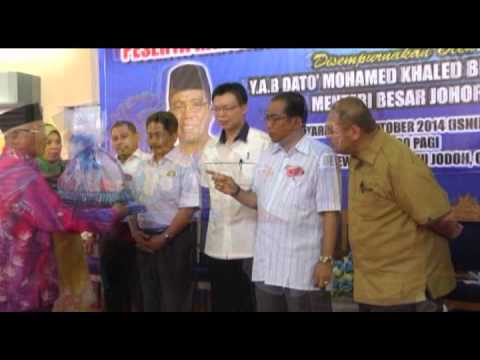 Lawatan Kerja Menteri Besar Johor ke Daerah Segamat