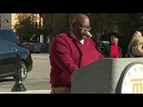Rosa Parks statue unveiled in Montgomery, Al.