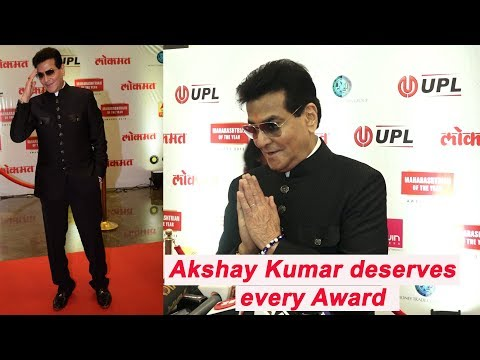 Jeetendra At Lokmat Maharastrian Of The Year Awards 2018