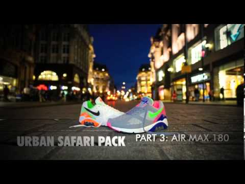 size? x Nike Air Max 180   Urban Safari Pack Part 3