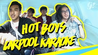 Video HOT BOYS CARPOOL KARAOKE WITH RISYAD, OMAR, DYLAN, ARNOLD & FAUZI MP3, 3GP, MP4, WEBM, AVI, FLV Februari 2019