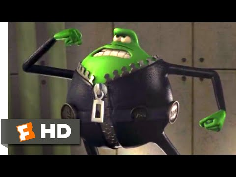 Flushed Away (2006) - Le Frog Fight Scene (9/10) | Movieclips