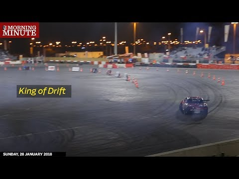 Refaat Al Yahyai was crowned the Sultanate's 'King of Drift' at Oman's Red Bull Car Park Drift Qualifier