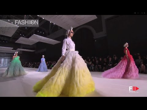 """GIAMBATTISTA VALLI"" Paris Haute Couture Autumn Winter 2014 Full Show HD by Fashion Channel"