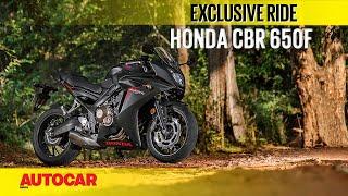 2. Honda CBR 650F | First Ride | Autocar India