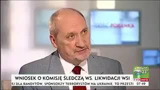 Nazywam się Macierewicz i oświadczam, że nigdy nie mówiłem, iż w Smoleńsku był zamach.