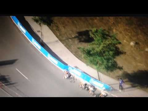 Marianne Vos's Rabobank-Liv team crash out of TTT world championship (video)