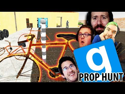 THE MASTER OF DISGUISE  GMod Prop Hunt Funny Moments