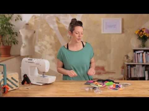 DIY Last Minute Geschenk: Broschen aus Filz basteln und benähen