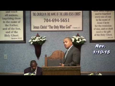 Apostle Mathis Re The Hour Is Coming (1 Of 5)