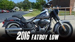 8. 2016 Harley-Davidson® FLSTFB - Softail® Fat Boy® Lo Charcoal Denim