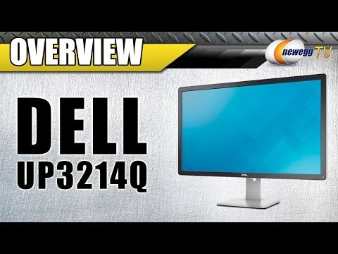 Dell UP3214Q 4K Monitor Overview - Newegg TV