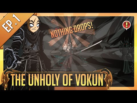 =AQW= Quest to 'Unholy Of Vokun' Armor #1 - No drops!