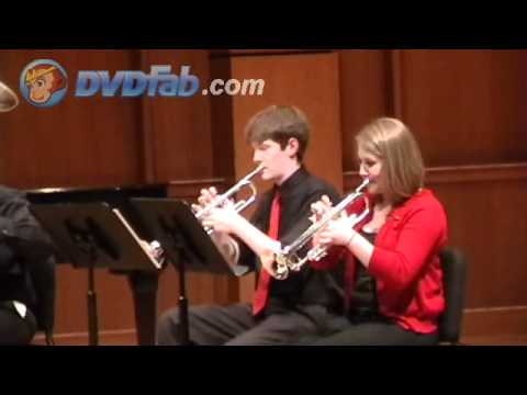 Brass Quintet No. 3 in D Flat Major, Op. 11, by Victor Ewald,  Part 2