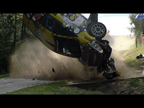 ERC Rally Rzeszow 2017 | BIG CRASHES & ACTION