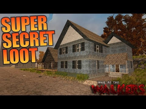 SUPER SECRET LOOT! | WotW MOD 7 Days To Die | Let's Play Gameplay Alpha 16 | S03E15