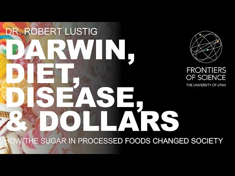 """lustig - November 6, 2014 """"Darwin, diet, disease, and dollars: how the sugar in processed foods changed society"""" The Western diet is a primary factor in the etiology ..."""