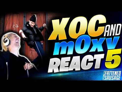 XQC & m0xy REACT to FUNNY Videos w/ CHAT #5