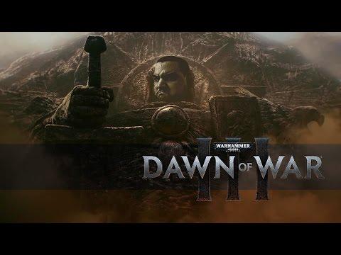 [18+] Шон играет в Dawn of War III - стрим первый, одиночная кампания