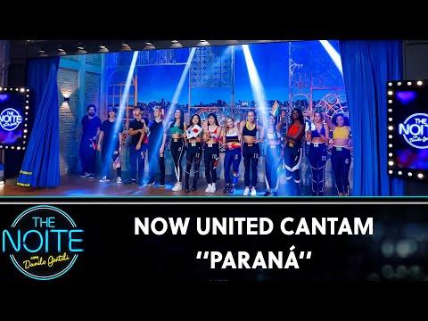 Now United cantam Paraná  | The Noite (01/11/19)