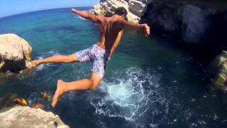 Banzart Tunisia  city pictures gallery : Cliff jumps JWEBI Tunisia