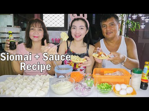Siomai + Chili Garlic Sauce Recipe