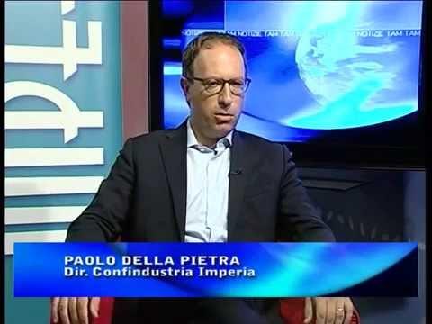 INTERVISTA AL DIRETTORE DI CONFINDUSTRIA DI IMPERIA PAOLO DELLA PIETRA