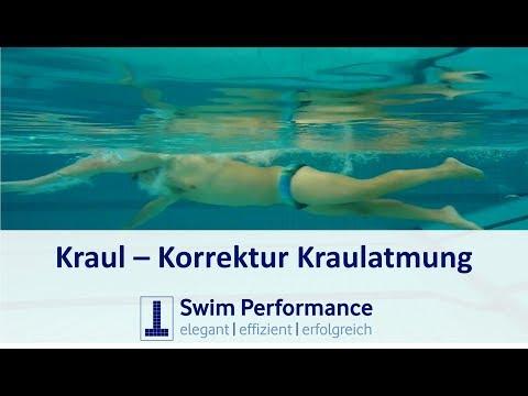 Kraulatmung - Tipps zur Verbesserung (inklusive Unterwasseraufnahmen)