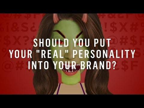 "Watch 'Should You Put Your ""Real"" Personality Into Your Brand?'"