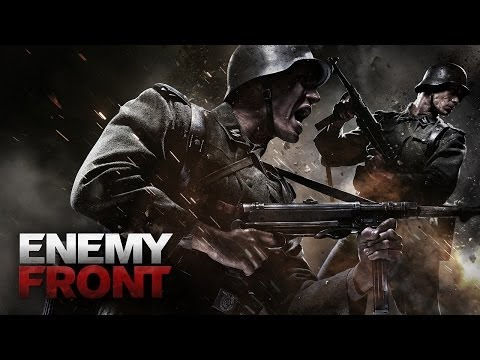 ENEMY FRONT: Shoot, snipe or sneak past Nazi forces as American war correspondent Robert Hawkins as he teams up with resistance fighters opposing the Nazi regime.  Meticulously plan out your route, picking off enemy soldiers with pinpoint accuracy from a