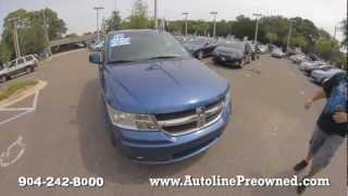 Autoline's 2010 Dodge Journey SXT Walk Around Review Test Drive