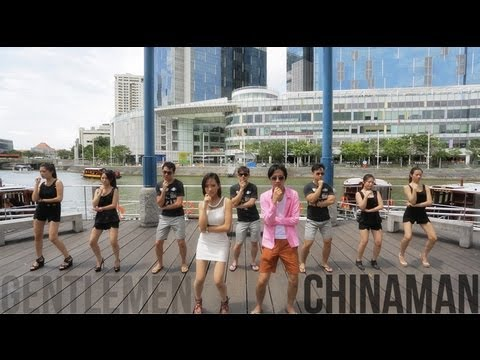 PSY Gentleman Parody - CHINAMAN (Malaysia X Singapore)
