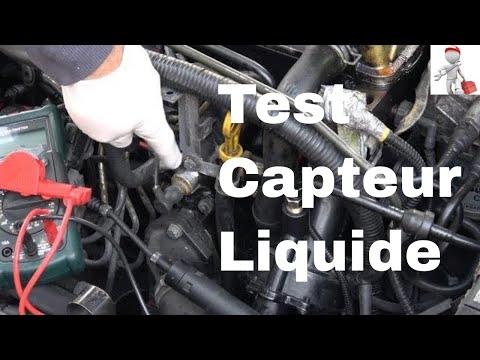 Tester sans démontage un capteur de température de liquide de refroidissement