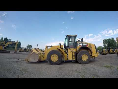 CATERPILLAR RADLADER/INDUSTRIE-RADLADER 980K equipment video uIZ4UAnOGNU