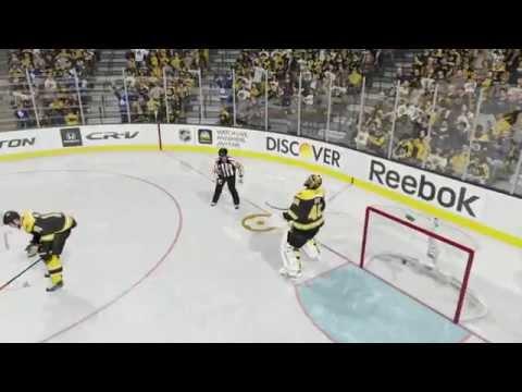 NHL 15: Goalie Interference