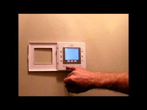 Program the Thermostat