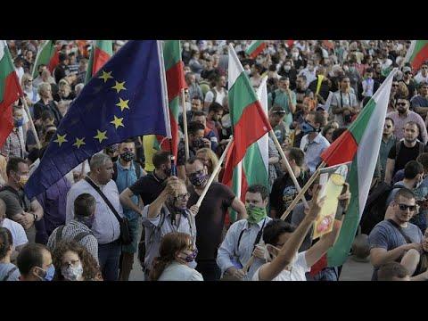 Αντικυβερνητικές διαδηλώσεις στη Βουλγαρία