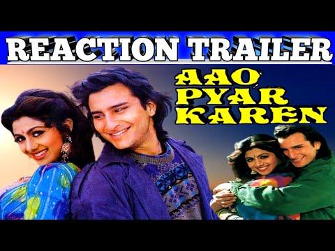 Aao Pyar Karen.1994 Trailer Reaction..