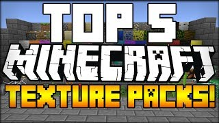 TOP 5 Minecraft Texture Packs (Minecraft 1.7.9) (Resource Packs + Download Links) - 2014 [HD]