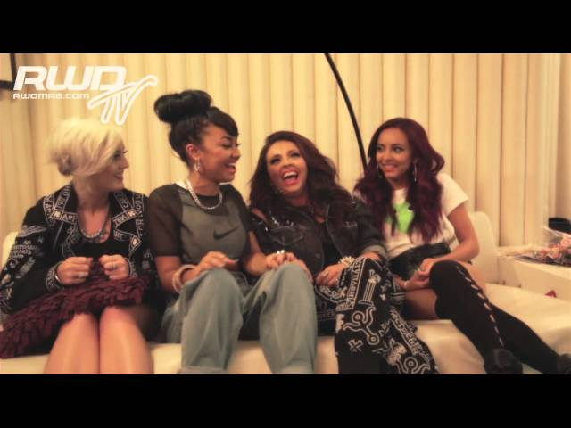 LITTLE MIX GIGGLE AND GOSSIP WITH RWD TV