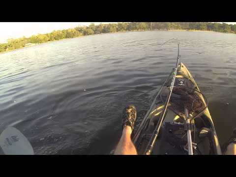 Bull Red After Work In My Ultra 4.7 - kayak fishing, kayak photos, kayak videos
