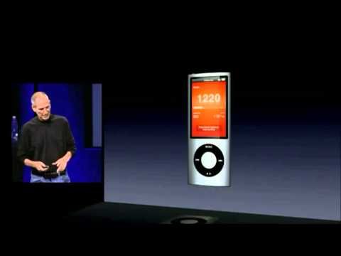 Apple Music Event 2009   iPod Nano 5th Generation Introducti