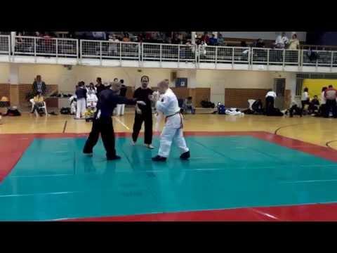 Full Contac küzdelmek a Sport-jitsu Magyar Bajnokságon