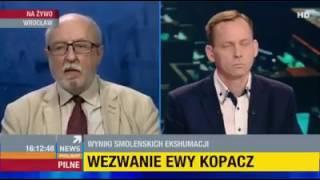 W Smoleńsku był zamach, bo Robert Kubica uderzył w ścianę z ta samą prędkością i miał tylko potłuczenia