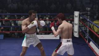 --READ THE DESCRIPTION FOR DETAILS--- I DO NOT PICK THE WINNER -- I DO NOT PLAY. ITS COM VS COM - What if: Gennady Golovkin vs Saul Canelo AlvarezI used the game Fight Night Champion on Xbox360. The rules are simple. I put the difficulty in ''Greatest of all time'' then the two AI fight each other ONE TIME ONLY. I record the fight, make some highlights then put it online.They call GGG: Golden and Alvarez: Chico, and Ricardo lolHere are the stats for each boxer that i used.(Scale of 20)(COMING SOON)Hope you like it, I really enjoy making this.Music: Auracle music,Stand and fightMusic #2: Into a dark dawn            Please EA make another boxing game