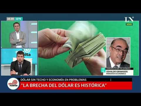 """Osvaldo """"Bebo"""" Granados: """"Inundaron al país con pesos, fabricaron billetes y hoy no tienen dólares"""""""