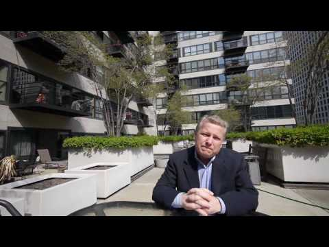 West Loop lofts: On the sundeck of Metropolitan Place with Ted Guarnero