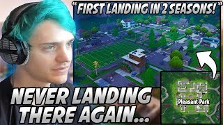 Ninja Landed PLEASANT PARK For The FIRST Time Since Season 6 BUT Now He Will NEVER Land There Again!
