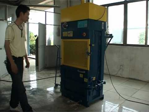 Waste Paper Balers (VB-10) Video Image